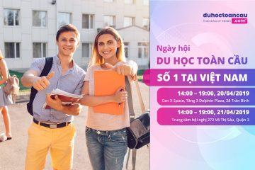 Ngày hội du học toàn cầu số 1 Việt Nam