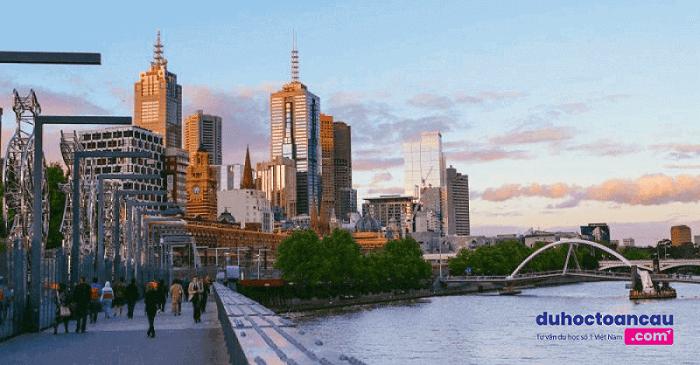 Thành phố Brisbane xinh đẹp - một trong những điểm đến ưa thích cho các bạn du học Úc