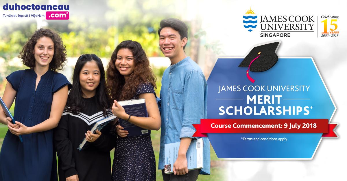 Đại Học James Cook Singapore chính thức mở đơn đăng ký xin học bổng 2019