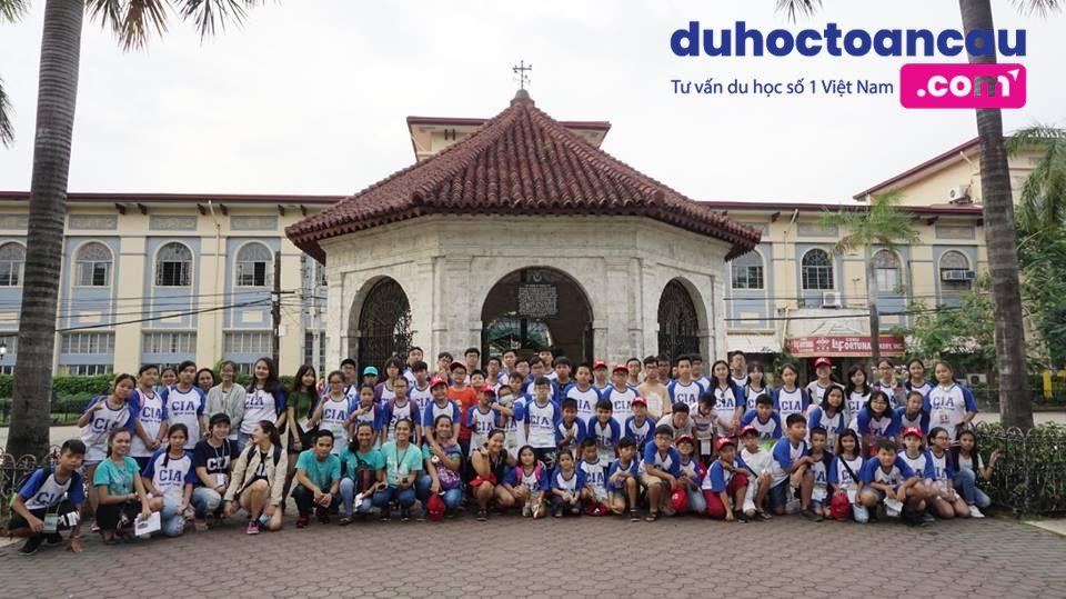 Học viên đông đảo của duhoctoancau.com tham gia summer camp