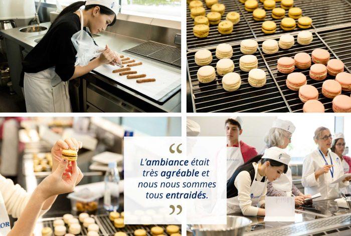 học làm bánh tại Pháp