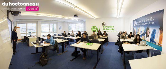 trường kinh doanh top đầu Châu Âu