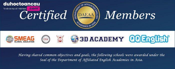 SMEAG là một trong những thành viên của DAEAA