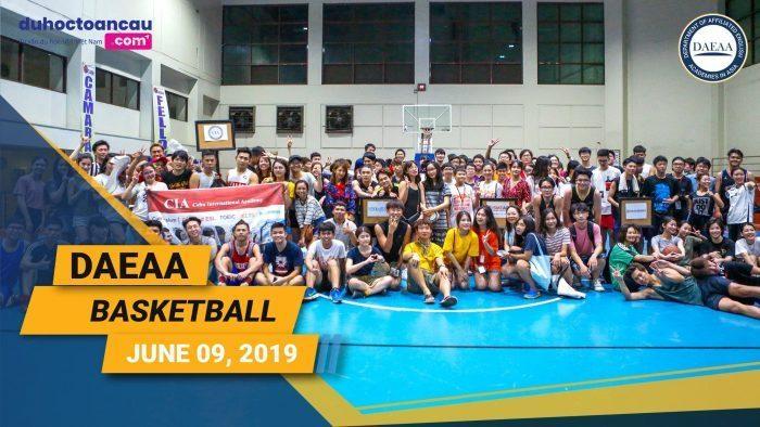 Hoạt động bóng rổ được tổ chức bởi DAEAA thu hút đông đảo du học sinh tham gia
