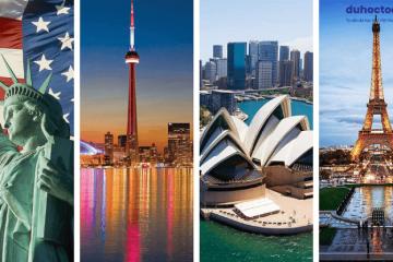 Tuần lễ tư vấn du học Miễn phí: Mỹ _Canada_Úc_Pháp