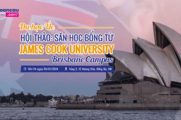 Du học Úc – cơ hội vàng săn học bổng từ Đại học danh tiếng James Cook Brisbane