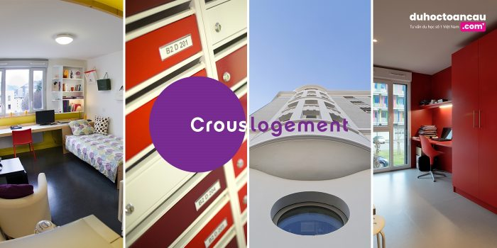 CROUS - loại hình nhà ở tiết kiệm chi phí nhất dành cho các du học sinh tại Pháp