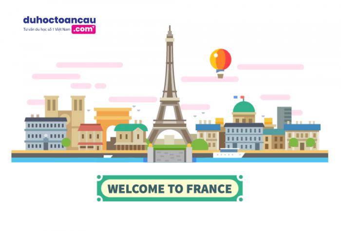 Đất nước Pháp - môi trường Đại học lý tưởng giành cho các du học sinh