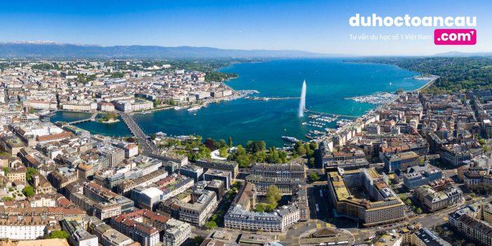 Thành phố Geneva là một trung tâm về ngoại giao và kinh tế