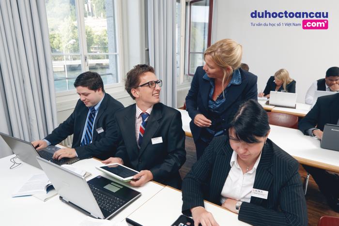 Học viện BHMS - ngôi trường đào tạo ngành quản trị kinh doanh khách sạn danh tiếng bậc nhất tại Thụy Sĩ