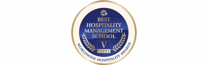 """Vatel Switzerland đã dành được giải thưởng """"Best Hospitality Management School"""""""