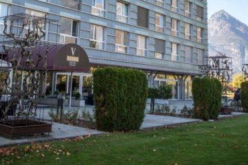 Vatel Switzerland là trường có khách sạn 4* ngay trong khu học xá của trường