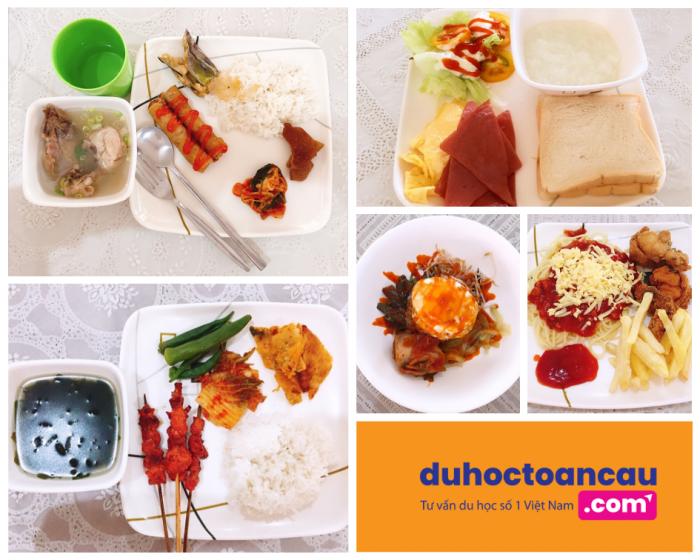 Bữa ăn của các con tham gia trại hè quốc tế ELSA, Philippines