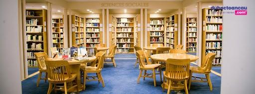Một góc thư viện của Alliance Française